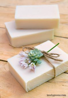 How to make Natural Goat Milk Soap