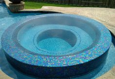 custom gunite glass tile swimming pool and spa construction The Woodlands, TX