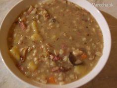 Sobotní bramboračka bábinky Cilinky (fotorecept) Cheeseburger Chowder, Soup, Soups