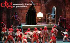 Community Theatre of Greensboro   Greensboro, NC Travel & Tourism - Greensboro, NC Accommodations, Restaurants, Events & Attractions