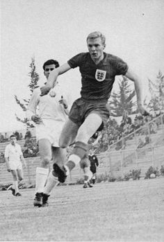 7th June 1962. England's Bobby Moore in action against Bulgaria in a Group 4 match at the 1962 World Cup Finals, in Chile.