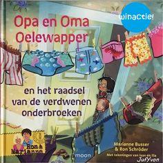Van Overamstel uitgevers kreeg ik het boek opa en oma oelewapper en de verdwenen onderbroeken. Dit boek is speciaal voor de Kinderboekenweek...