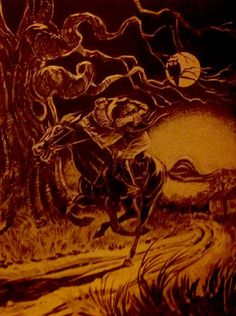 zgmfd:  The Headless Horseman, Larry Evans How To Draw Monsters...