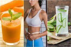5 juicer, der hjælper dig til en fladere mave Healthy Eating Tips, Healthy Foods To Eat, Healthy Smoothies, Healthy Recipes, Diet Plans To Lose Weight, How To Lose Weight Fast, Jugo Natural, Bebidas Detox, Summer Meal Planning