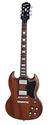 Epiphone Faded G400 SG Electric Guitar Worn Brown >>> Check this awesome product by going to the link at the image.(It is Amazon affiliate link) #2017