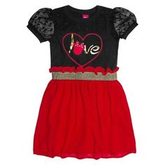 Minnie Mouse Girls Tunic Dress - At Target - #MinnieStyle