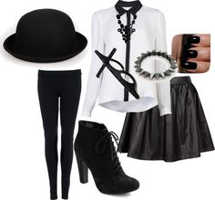 """""""Black Style !"""" by theereemo on Polyvore"""