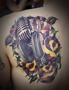 Sweet new style tattoo