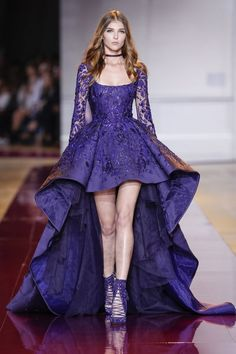 Zuhair Murad, haute couture A-H - L'officiel de la mode Evening Dress Long, Evening Dresses, Couture Fashion, Runway Fashion, Paris Fashion, Couture Dresses, Fashion Dresses, Mode Lolita, Short Dresses