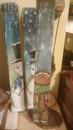 Diy christmas decorations easy - Fun and Easy DIY Christmas Decorations on a Budget Wooden Pallets – Diy christmas decorations easy Blue Christmas Decor, Snowman Christmas Decorations, Christmas Wood Crafts, Christmas On A Budget, Snowman Crafts, Christmas Signs, Christmas Art, Christmas Projects, Holiday Crafts