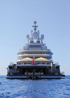 Superyacht AZZAM At M Is The Worlds Largest Private Super - Giga yacht takes luxury oil tanker sized extreme