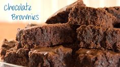 Can't Tell They're Low-fat Brownies Dessert Paleo Brownies, Low Fat Brownies, Fudge Brownies, Bean Brownies, Orange Brownies, Pumpkin Brownies, Low Fat Desserts, Easy Desserts, Delicious Desserts