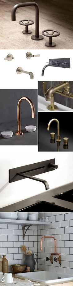bathroom and kitchen faucets