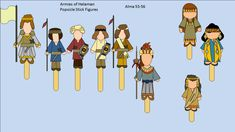Armies of Helaman Alma 53-56