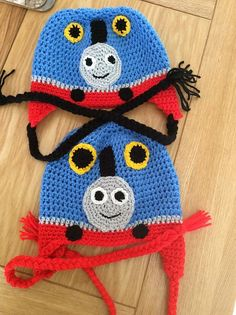 FREE CROCHET PATTERN~~Thomas the Train Hat