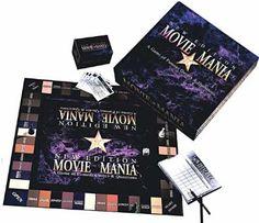 Amazon.com: Movie Mania New Edition Board Game: Toys & Games