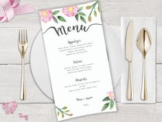Your place to buy and sell all things handmade Wedding Invitation Suite, Wedding Stationery, Love Design, Floral Design, Diy Envelope Liners, Wedding Pins, Wedding Ideas, Printable Menu, Printables