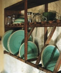 Op said: Bohemian Wornest ~ I keep seeing this pin and there is just something about it . .   I say: Perhaps over the sink? Drying rack and dish storage/display?.