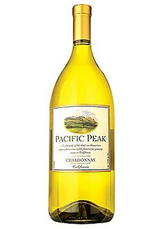 Pacific Peak Chardonnay - Cooking white wine of choice. Also good if you are having a dinner party and don't want to break the bank. $3 Total Wine & More