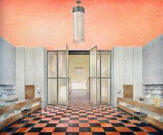 #oldstnewrules #artdeco #interior #design #art #illustration #vintage