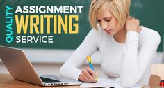 Quality of Assignment is the use for the student's interests and understanding in a particular course. We provide quality assignment writing services to our clients in a wide range of subjects and you can expect good grades through our written assignments.