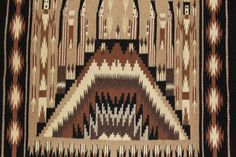 Navajo : Extremely Fiine, Navajo Yei Textile by Sally Simpson #180 – CulturalPatina