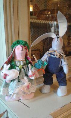 Gino e Gina the rabbits