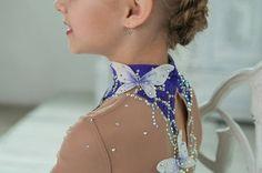 Beautiful designer rhythmic gymnastics leotard by artmaisternia