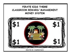 ARRGH MATES! We've found our PIRATE MONEY! This set will also match my COMPLETE PIRATE THEME CLASSROOM MANAGEMENT DECOR SET.$1.25