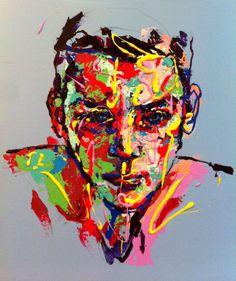 "Saatchi Art Artist: Jeong Ah Lim; Acrylic 2013 Painting ""an ordinary person 1"""