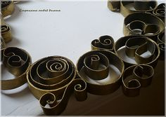 Wreath of rolls - Recycled Toilet Paper Roll Wreath