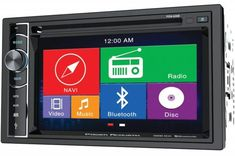 Power Acoustik PDN Double Din AM/FM/DVD/BT with Navigation. Double-DIN in-dash GPS navigation multimedia receiver with DVD player. 800 x 480 resolution. Bluetooth, Usb, Radios, Derby, Automotive Solutions, Outdoor Gadgets, Gps Tracking, Backup Camera, Dashcam