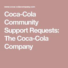 Coca-Cola Community Support Requests: The Coca-Cola Company