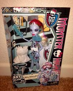 Monster High Art Class Abbey Bominable New | eBay