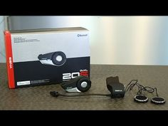 ▶ Sena Technologies 20S Bluetooth Communication System Review | Motorcycle Superstore - YouTube