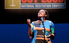 High school senior Kristen Dupard is the 2012 Poetry Out Loud National Champion.