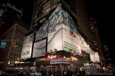 MINI Countryman en Times Square