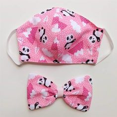 Easy Face Masks, Diy Face Mask, Fabric Bracelets, Diy Hair Bows, Diy Ribbon, Sewing Projects For Beginners, Diy Mask, Fashion Face Mask, Mask Design