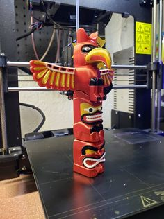 Multi-Color Totem Pole printed by Colin Smith #mmu2
