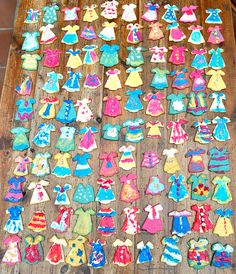 one hundred dresses. . .cookies based on the book.  <3