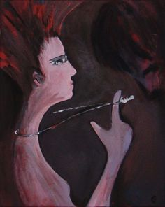 The Key painting contamporary art