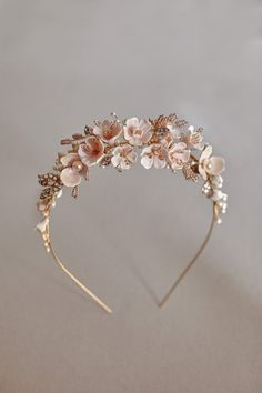Cute Jewelry, Hair Jewelry, Bridal Jewelry, Fashion Jewelry, Bridal Tiara, Bridal Headpieces, Wedding Hair Accessories, Jewelry Accessories, Flower Tiara