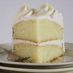 The Ultimate Vanilla Cake