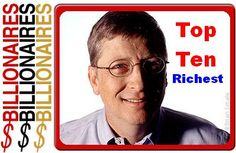 Top ten richest personalities of the year