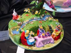 Mad Hatter's Tea Party cake by The Food Pornographer, via Flickr