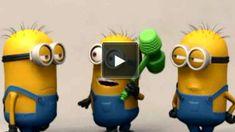 Funny Minion Videos, Minion Gif, Minions Despicable Me, My Minion, Funny Happy Birthday Song, Happy Birthday Minions, Funny Images, Funny Pictures, Funny Pics