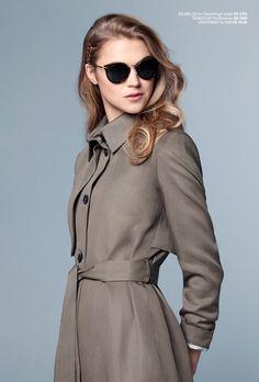 simple and yet stylish Ss16, Sunnies, Shirt Dress, Stylish, Simple, Coat, Womens Fashion, Clothing, Jackets