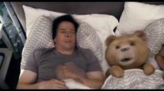 Mark Wahlberg and Seth MacFarlane in Ted Mark Wahlberg, Funny Movies, Comedy Movies, Great Movies, Films, Top Movies, Funny Gifs, Funny Humor, Funny Videos