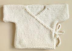 Free Knitting Patterns Babies | Free Knitting Pattern 70352AD Baby Kimono : Lion…