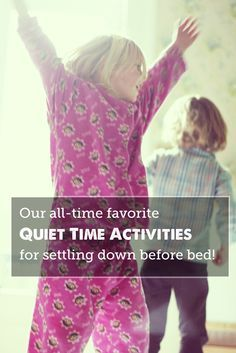 A great list of activities to help kids wind down before bedtime - love that it's broken up by age group (toddlers, preschoolers, school aged kids)